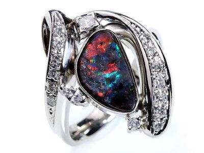 ボルダーオパール効果:その虹色を生かしたは母なる鉄鉱石