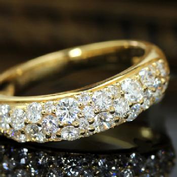 ダイヤモンドパヴェリング