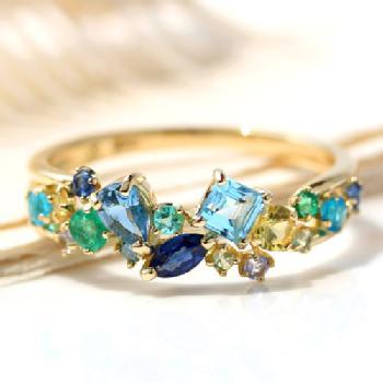 宝石のセッティング(留め方)種類と名称