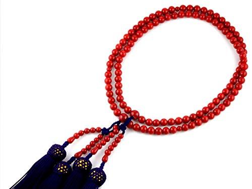 念珠の色:赤やブルー派手な色でもいいの?