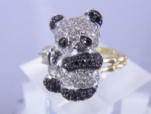 パンダの指輪